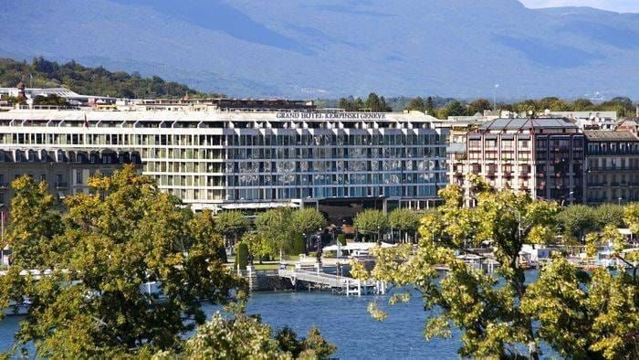 Grand Hotel Kempinski Geneva : A Meeting with the Director