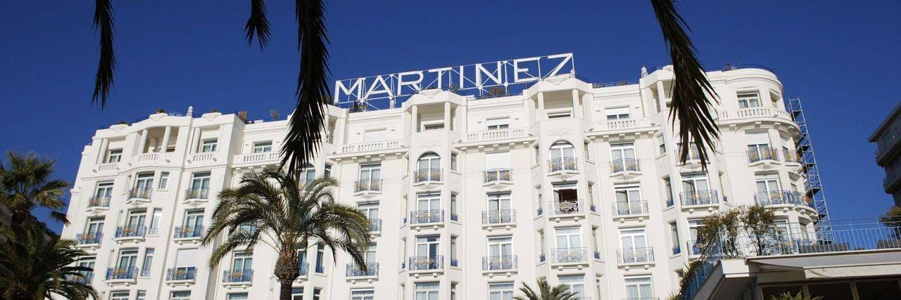 Hotel Martinez in Cannes, a tale of reinvention