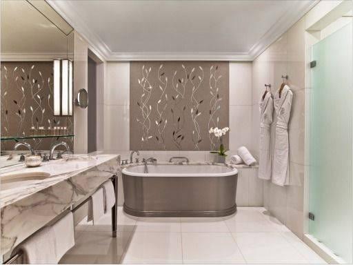Laurent Delporte - Plaza Athenee salle de bain