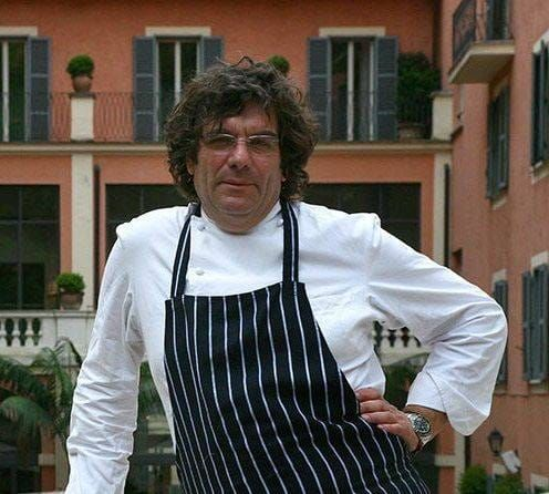 Fulvio Pierangelini, head chef of Rocco Forte
