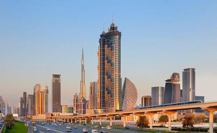 JW Marriott Marquis Dubai, an eco friendly hotel