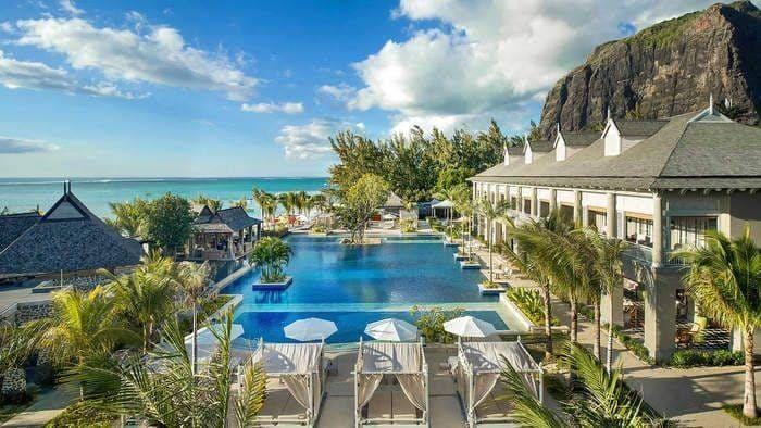 Saint Regis ile Maurice piscine
