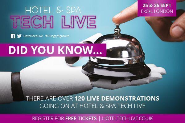 Hotel Spa Tech Live In London Luxury Hotel Expert Hotel Spa